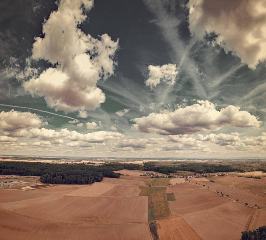 Luftbildaufnahmen